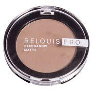 "Тени для век ""Relouis Pro Eyeshadow Matte"" (тон: 12, warm taupe) (10624009)"