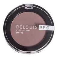 "Тени для век ""Relouis Pro Eyeshadow Matte"" тон: 13, iced coffee"