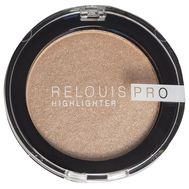 "Хайлайтер для лица ""Relouis Pro Highlighter"" тон: 02, champagne"