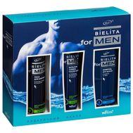 """Подарочный набор """"Bielita for Men"""" (шампунь, пена, бальзам)"""