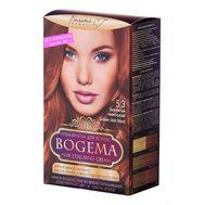 """Крем-краска для волос """"Bogema"""" тон: 5.3, золотистый темно-русый"""