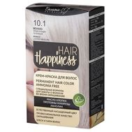 "Крем-краска для волос ""Hair Happiness"" тон: 10.1, монако"