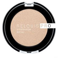 "Тени для век ""Relouis Pro Eyeshadow Metal"" тон: 53, oh my gold (10624070)"