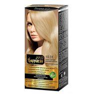 """Крем-краска для волос """"Hair Happiness"""" тон: 10.31, очень светлый бежевый блондин (10847442)"""