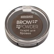 "Пудра для бровей ""Brow Powder"" тон: 3, grey brown"
