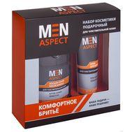 """Подарочный набор """"Men Aspect"""" (крем для бритья, лосьон-тоник после бритья) (10802647)"""