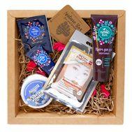 """Подарочный набор """"Beauty Gift"""" (маска, бальзам для стоп, крем для рук, таблетка для ванн) (10323201)"""