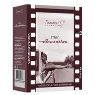 """Подарочный набор """"Men Sensation"""" (шампунь, бальзам после бритья) (10323197)"""