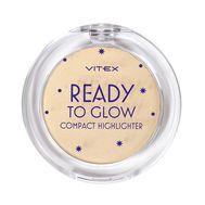 """Хайлайтер для лица """"Ready to Glow"""" тон: 203, golden glow (10323536)"""
