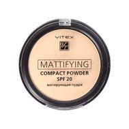 "Пудра для лица матирующая ""Mattifying"" SPF 20 тон: 03, soft beige (10940484)"