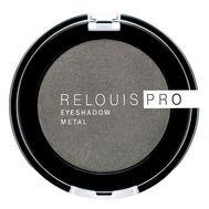 "Тени для век ""Relouis Pro Eyeshadow Metal"" тон: 55, anthracite (10624084)"