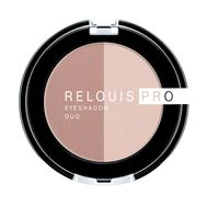 "Тени для век ""Relouis Pro Eyeshadow Duo"" тон: 101 (10689929)"