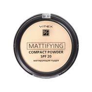 "Пудра для лица матирующая ""Mattifying"" SPF 20 тон: 02, natural beige (10323533)"