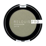"""Тени для век """"Relouis Pro Eyeshadow Satin"""" тон: 35, green tea (10624117)"""