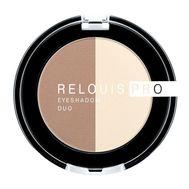"Тени для век ""Relouis Pro Eyeshadow Duo"" тон: 102 (10689932)"