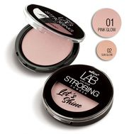 "Пудра-стробинг для лица ""Let's Shine"" тон: 01, pink glow (10323840)"