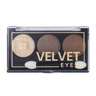 "Тени для век "" Velvet Eyes"" тон: 04, brown bronze (10324129)"