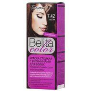 """Краска для волос """"Belita Color"""" тон: 7.42, каштан (10324033)"""