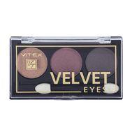 "Тени для век "" Velvet Eyes"" тон: 03, burgundy (10324128)"