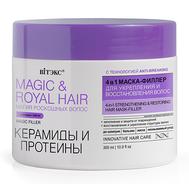 """Маска-филлер для волос 4в1 """"Керамиды и протеины"""" (300 мл) (10324972)"""