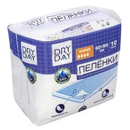 "Пелёнки одноразовые ""DryDay. Super"" (10 шт.; 600 х 900 мм) (10325000)"