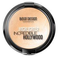 """Хайлайтер для лица """"Incredible Hollywood"""" тон: 01, золотистый (10601635)"""