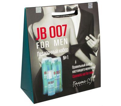 """Подарочный набор """"JB 007 For Men"""" (шампунь, гель для душа, гель после бритья) (10611724)"""