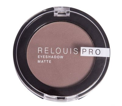 "Тени для век ""Relouis Pro Eyeshadow Matte"" тон: 13, iced coffee (10624018)"