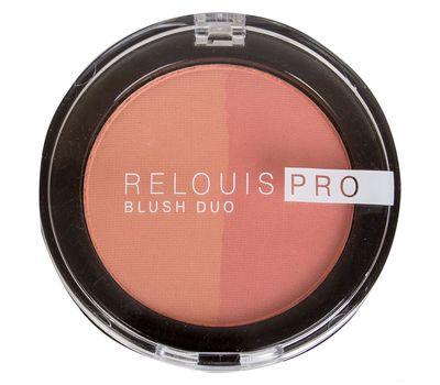 "Румяна ""Relouis Pro Blush Duo"" (тон: 201)"