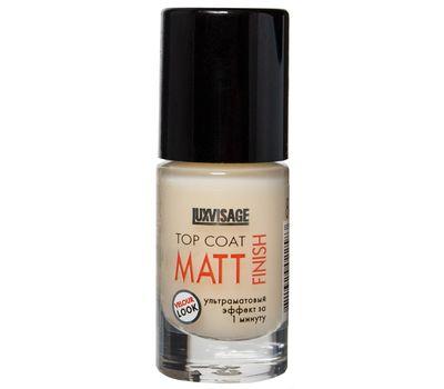 """Верхнее покрытие для ногтей """"Matt Finish"""" тон: прозрачный (10558079)"""
