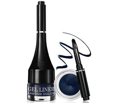 """Подводка для глаз водостойкая """"Gel liner LASTING COLOR"""" тон: 4, темно-синий (10601315)"""