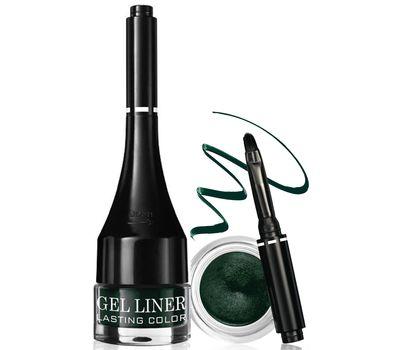 """Подводка для глаз водостойкая """"Gel liner LASTING COLOR"""" тон: 5, темно-зеленый"""