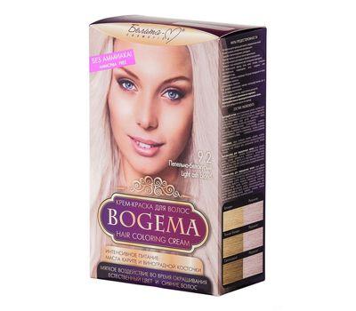 """Крем-краска для волос """"Bogema"""" тон: 9.2, пепельно-белокурый (10610755)"""