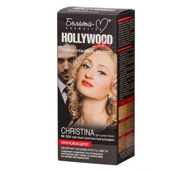 """Крем-краска для волос """"Hollywood color"""" тон: 324, кристина (10610766)"""