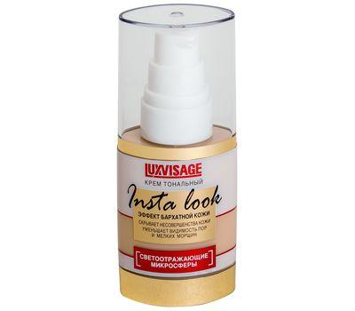 """Тональный крем для лица """"Insta Look"""" тон: 10, светло-кремовый беж (10689129)"""