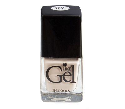 """Лак для ногтей """"Like Gel"""" тон: 07, итальянский капучино (10592116)"""