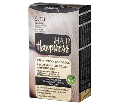 "Крем-краска для волос ""Hair Happiness"" тон: 9.13, монблан (10610119)"