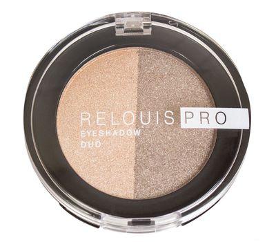 "Тени для век ""Relouis Pro Eyeshadow Duo"" тон: 112 (10689942)"