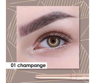 """Карандаш для глаз """"Artistic Color Kajal Contour"""" водостойкий тон: 01, champange (10807243)"""
