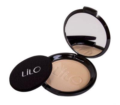 "Компактная пудра для лица ""LiLo"" тон: 02, ivory beige (10727105)"