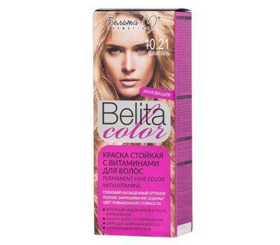 """Краска для волос """"Belita Color"""" тон: 10.21, шампань (10610158)"""