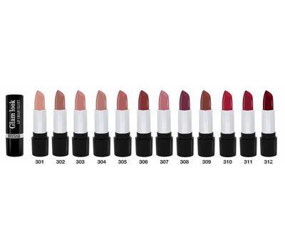"""Помада для губ """"Glam look cream velvet"""" тон: 301, ореховый крем (10543306)"""