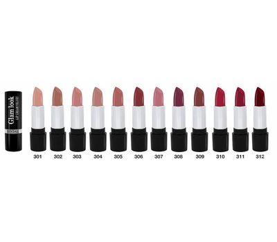 """Помада для губ """"Glam look cream velvet"""" тон: 312, бургунди (10543395)"""