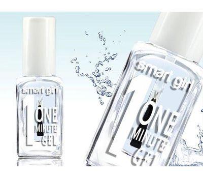 """Верхнее покрытие для ногтей """"One minute"""" тон: прозрачный (10600779)"""