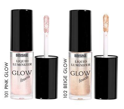 """Люминайзер для лица """"Glow touch"""" тон: 101, pink glow (10688373)"""