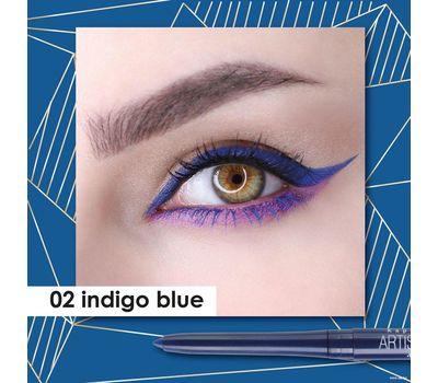 """Карандаш для глаз """"Artistic Color Kajal Contour"""" водостойкий тон: 02, indigo blue (10807254)"""