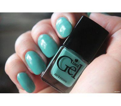 "Лак для ногтей ""Like Gel"" тон: 10, морская глубина (10592122)"