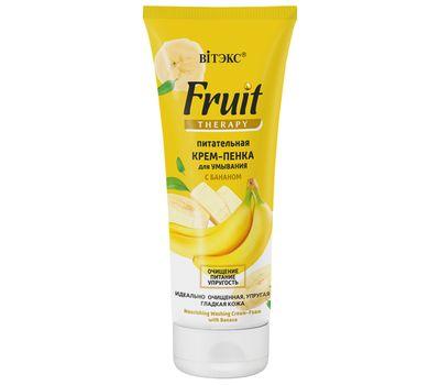 """Крем-пенка для умывания с бананом """"Fruit Therapy"""" (200 мл) (10323238)"""