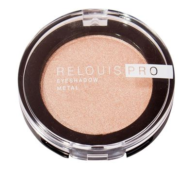 "Тени для век ""Relouis Pro Eyeshadow Metal"" тон: 51, peachy keen (10624054)"