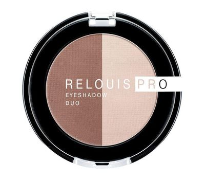 "Тени для век ""Relouis Pro Eyeshadow Duo"" тон: 104 (10689937)"